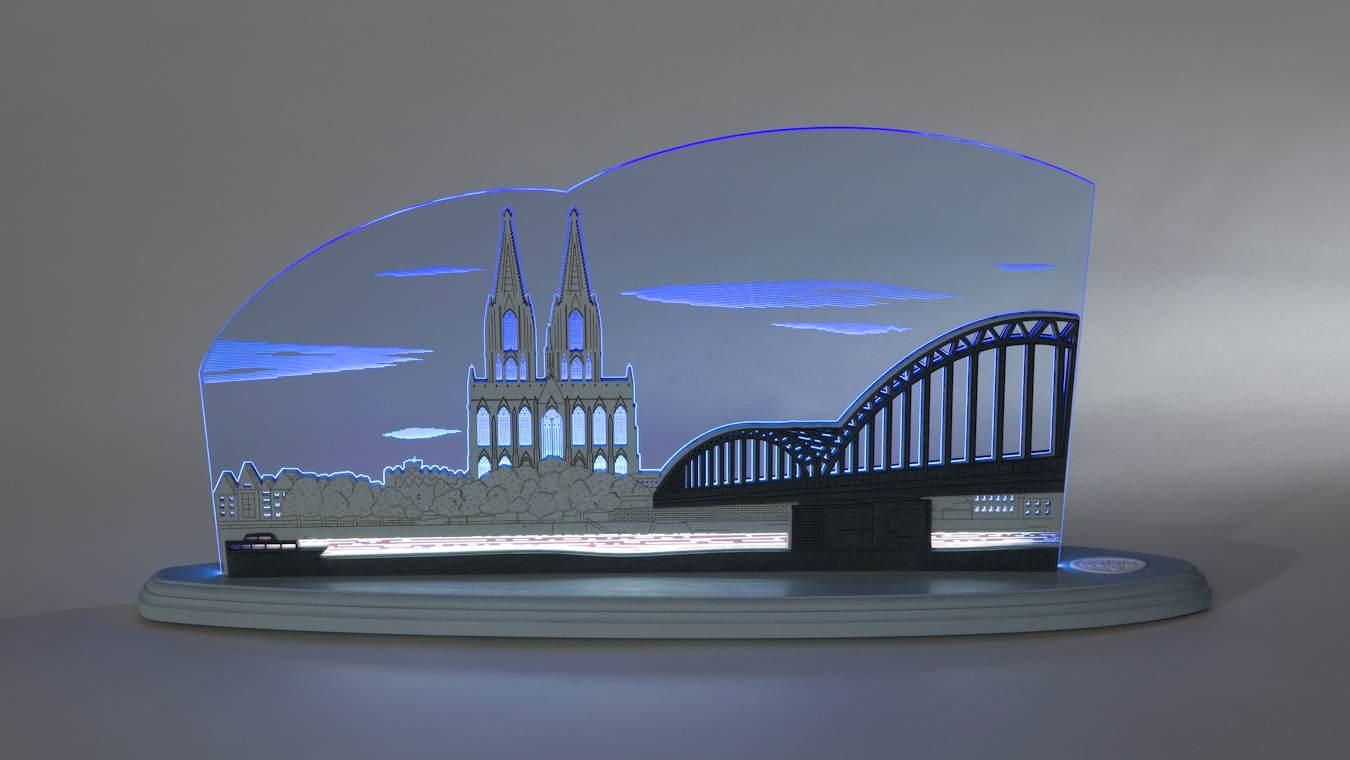 LED Motivleuchte Kölner Dom