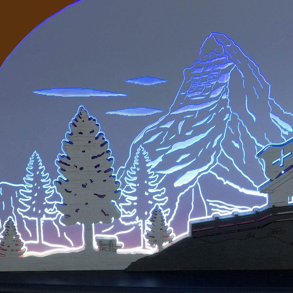 LED Motivleuchte Matterhorn