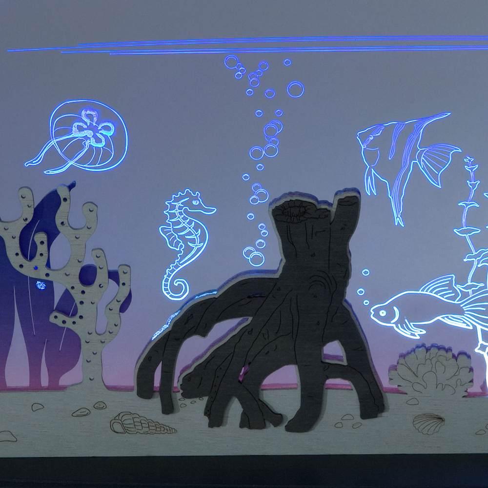 LED Motivleuchte Wo ist Nemo?