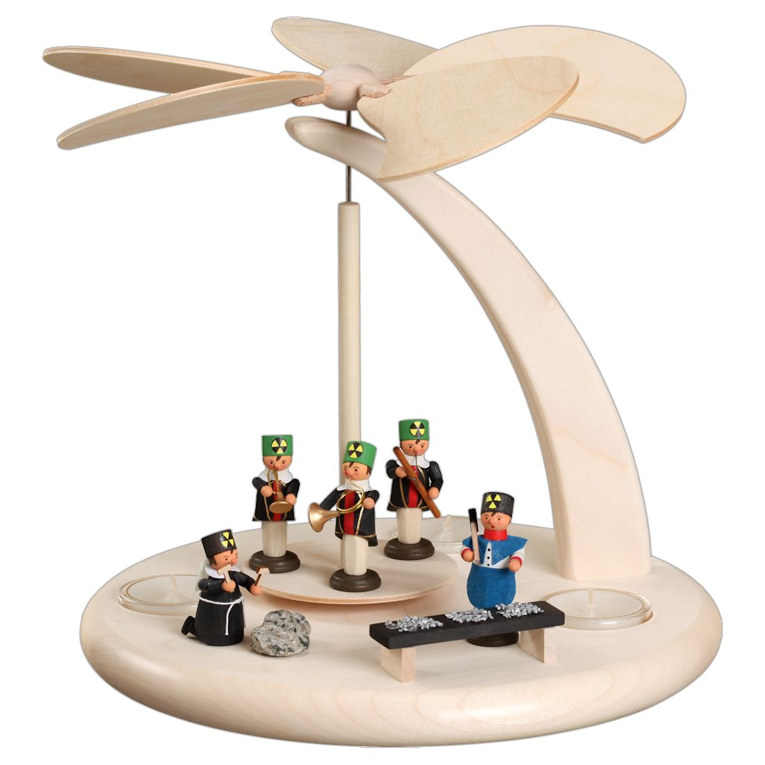 Tischpyramide - Bergleute