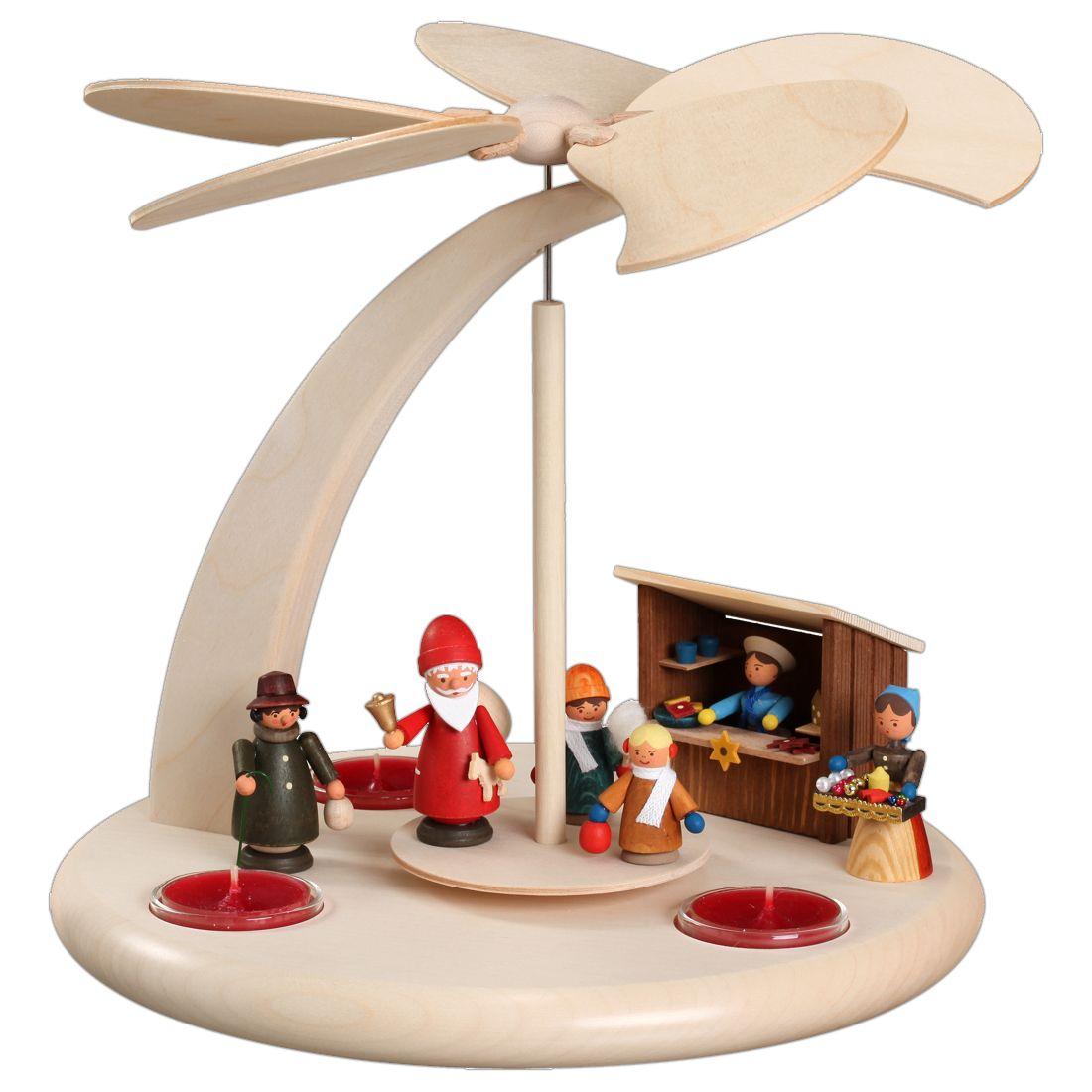 Tischpyramide - Weihnachtsmarkt