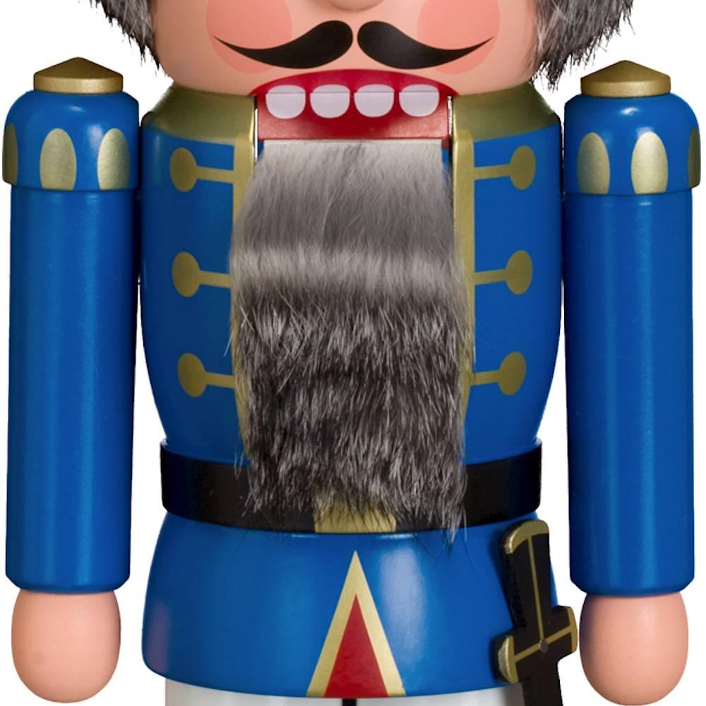 Nussknacker Polizist blau