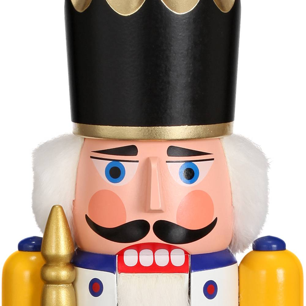 Nussknacker König weiss