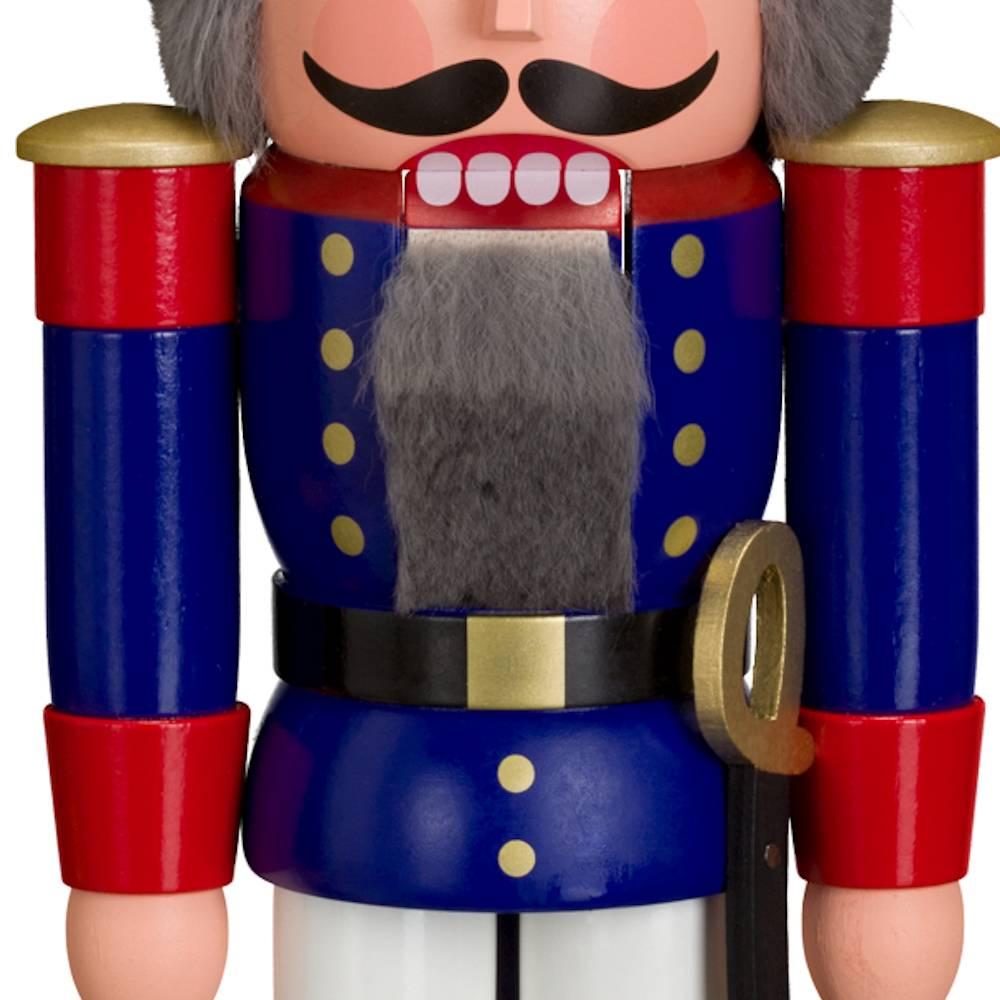 Nussknacker Soldat blau