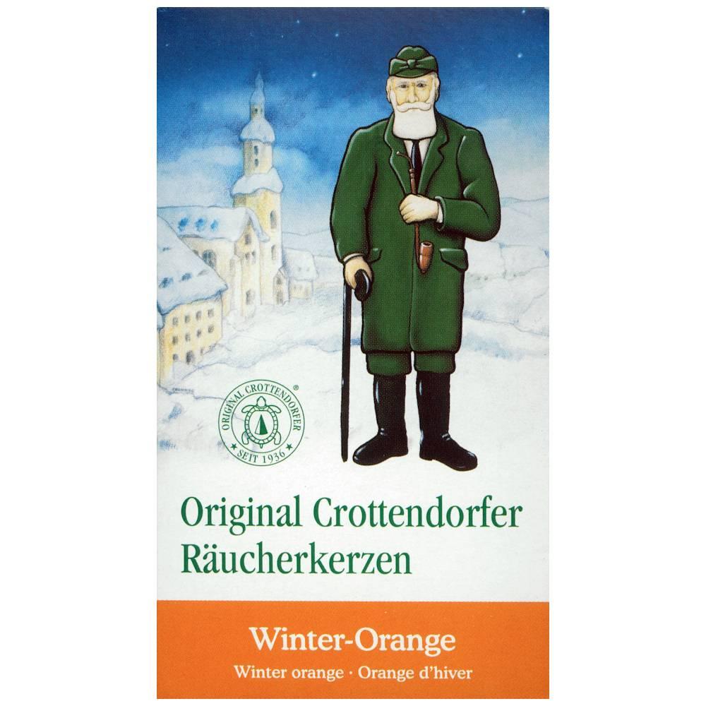 Räucherkerzen Winterorange