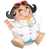 Kugelräucherfigur Ärztin