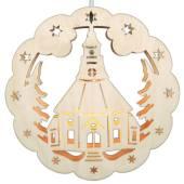 SAICO Fensterlicht Seiffener Kirche