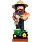 Ulbricht Nussknacker Farmer mit Traktor